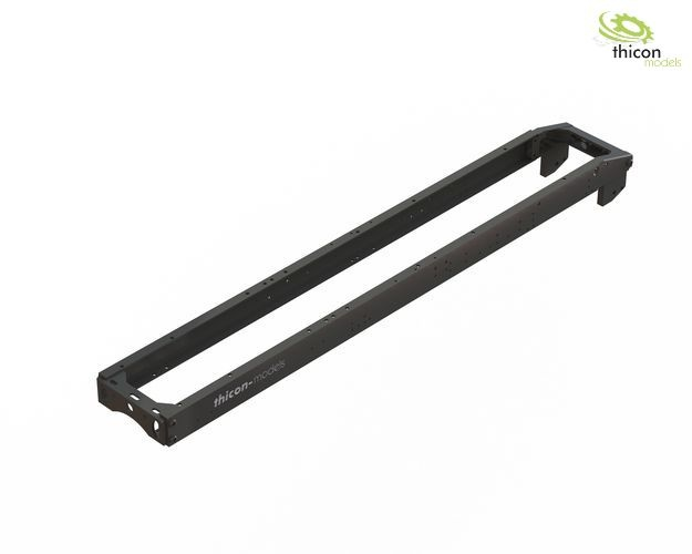 1:14 frame kit 2-axle (4x4) alu black