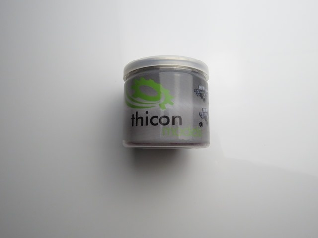 thicon Himbeerbonbons in Dose 75g
