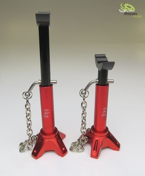 1:14/1:10 Car jack small Alu adjustable 2pcs