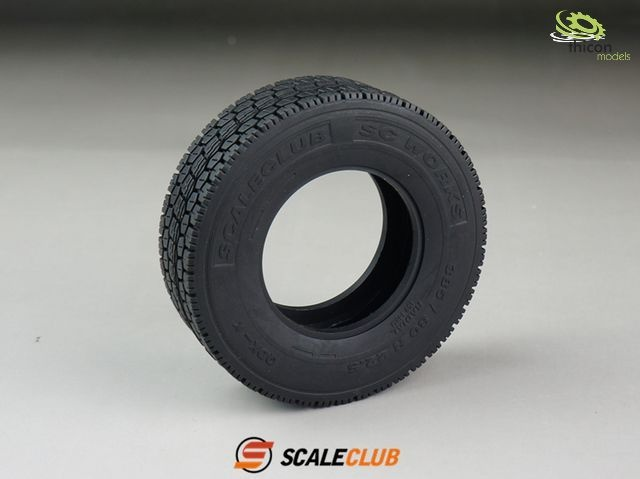 1:14 wide tire  All Terrain  2 pieces