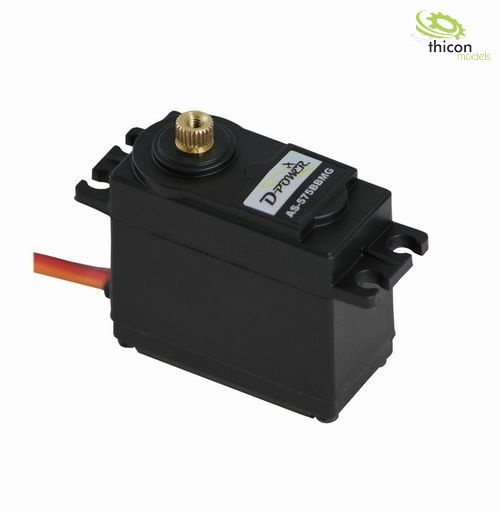 D-Power Servo AS-575BB MG Standard 6kg