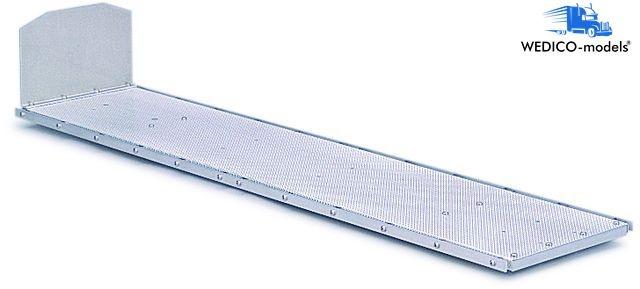 Flachbett-Aufbau für Auflieger 742mm lang