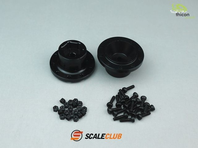 1:14 hub for driven front axles 2 pieces