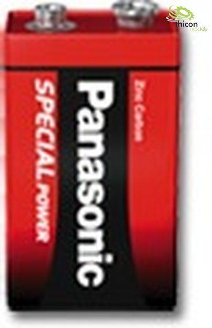 Panasonic 9V 6F22R 1er Blister Pana.9V 6F22R/1BP