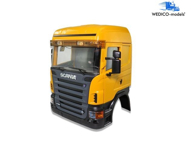 SCANIA cab HIGHLINE, yellow RAL1007