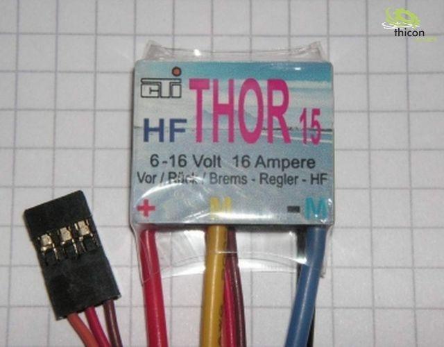 Fahrtregler mit Bremse 15A Thor 15 HF