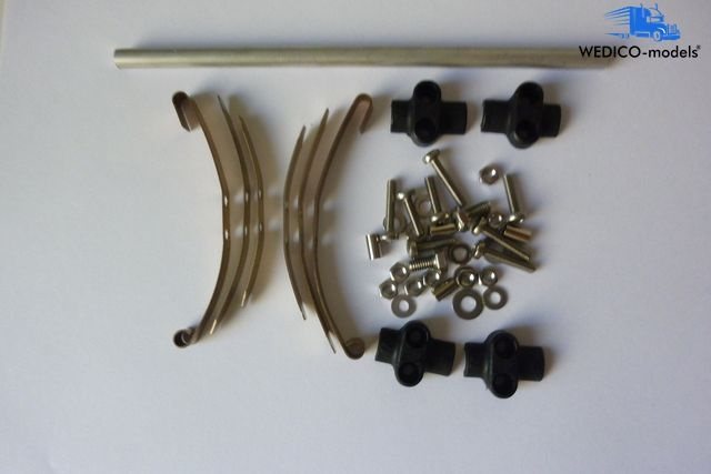 axle for low loader  spring 70 mm
