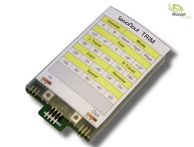 CARD Servotester und Programmier-Karte