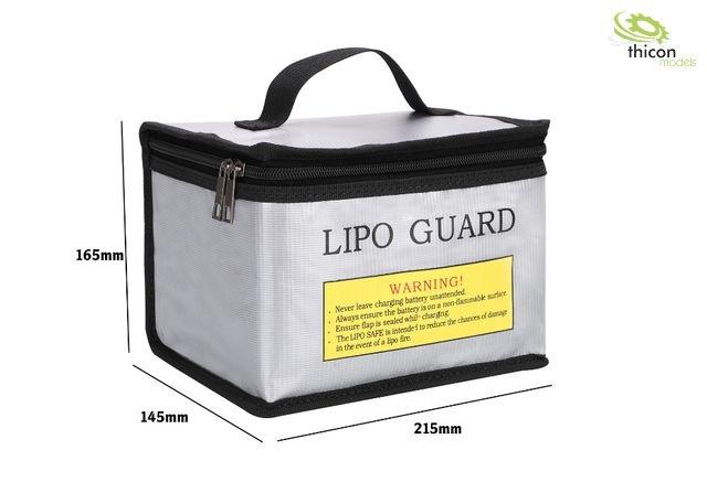 Fireproof lipo bag with handle