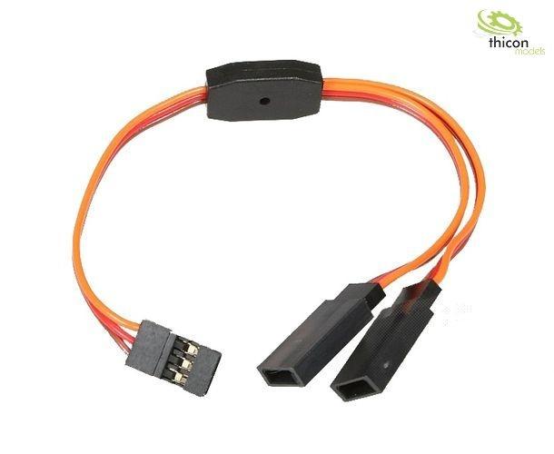Y-Kabel für Servos mit JR Stecker