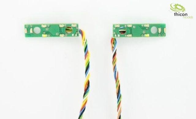 1:14 7,2V 6-Kammer LED-Platine