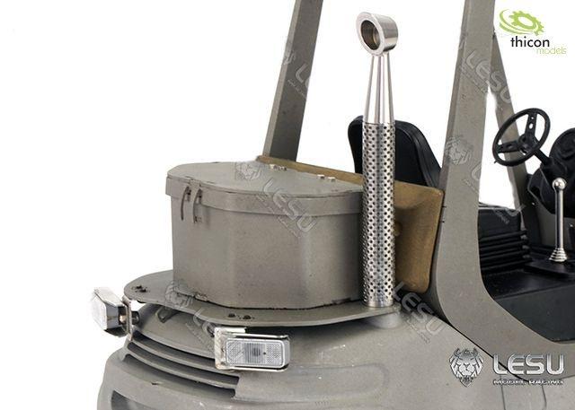Werkzeugbox aus Metall für Linde Gabelstapler