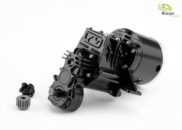 1:14/1:16 Allrad-Getriebe 2-Gang 1:28/42 für 540er Motor