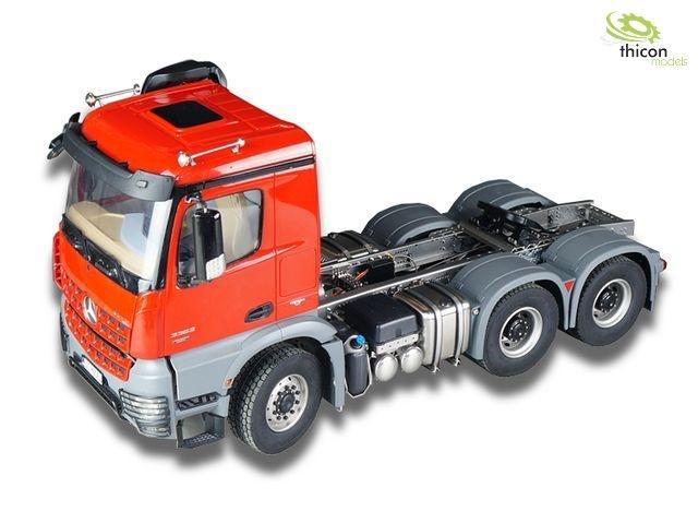 1:14 6x6-Fahrgestell komplett montiert für AROCS