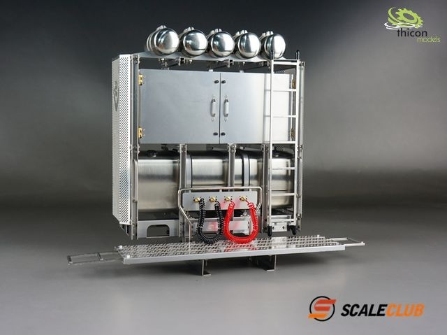1:14 heavy duty tower V8 Scania stainless steel with doors u