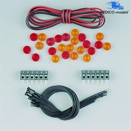 Elektr. Anlage für Kasteneckenbeleuchtung