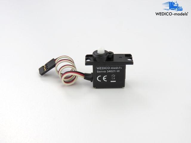 Servo digital für Sattelplatte und Schaltgetriebe