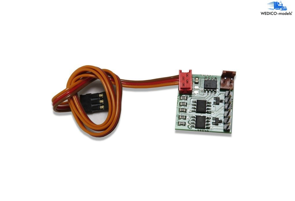 4-channel switching decoder 6-14V 2A