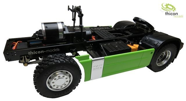 1:14 4x4 thicon chassis kit Version 2