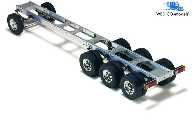 Prof.chassis 4-axle witho.Tank,675mm