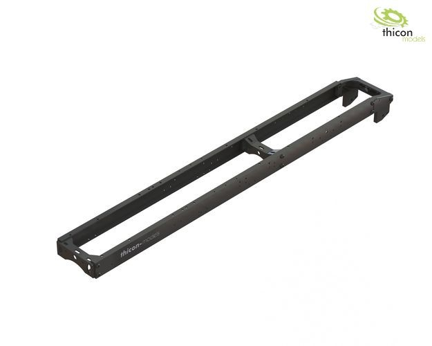 1:14 frame kit 3-axle (6x6) alu black