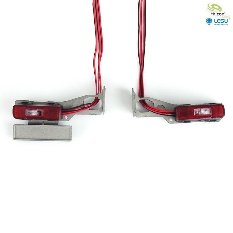 1:14 Rückleuchten für VOLVO mit LED und Halter v1