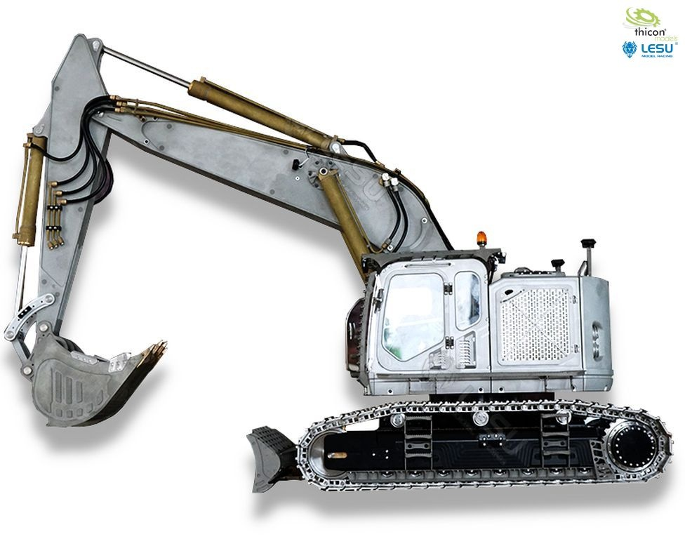 1:14 short-tail excavator ET35 with chains and dozer blade