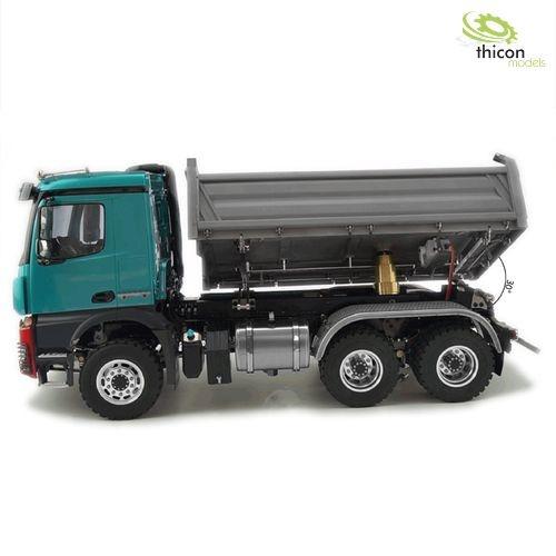 1:14 6x6 Fahrgestell mit 3-Seitenkipper hydr. ARTR