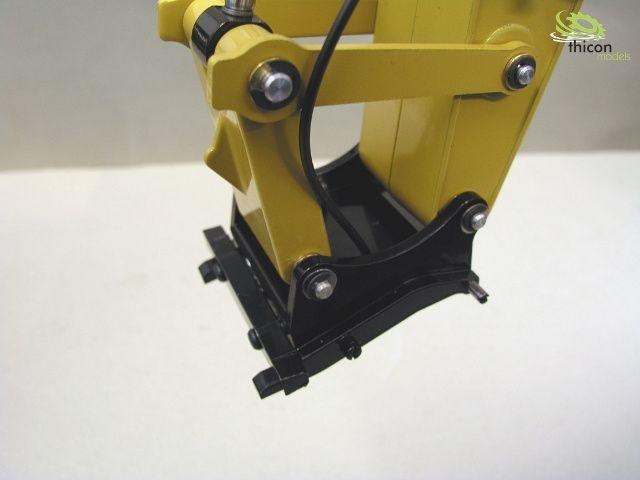 Hydr. Schnellwechselsystem für WEDICO Bagger CAT 345