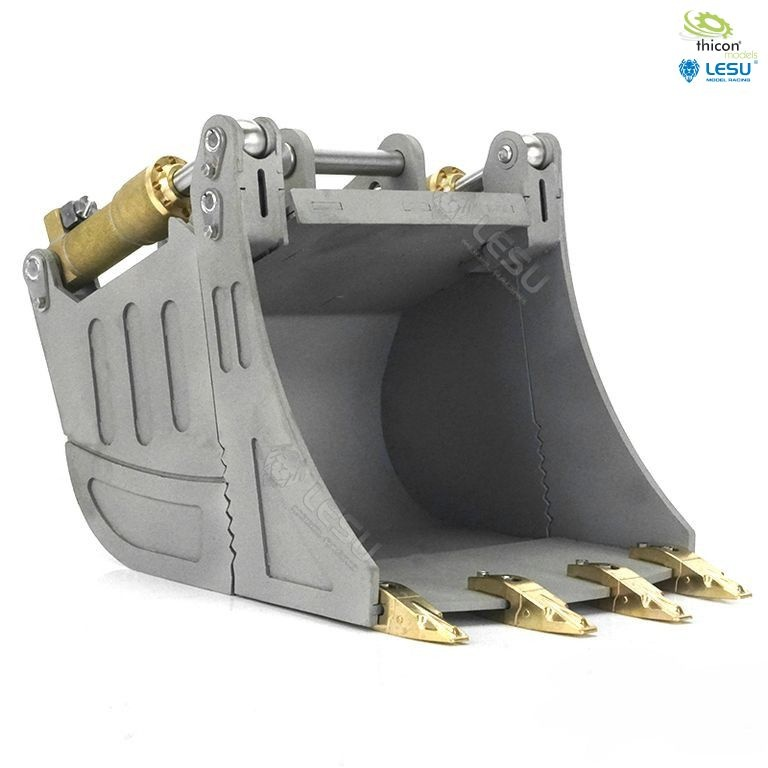 Hydraulic folding bucket for 36t / mobile / short-tail excav