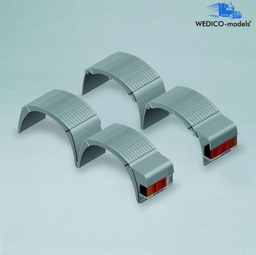 Kotflügel ACTROS, Doppel-Hinterachse