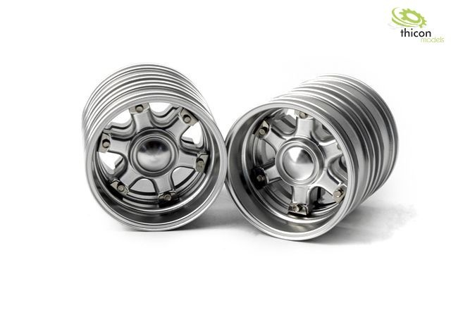 1:14 Classic star rim for drive axle Alu pair