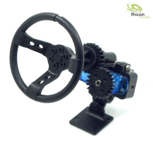 1:10/1:14 Automatic steering wheel with servo kit