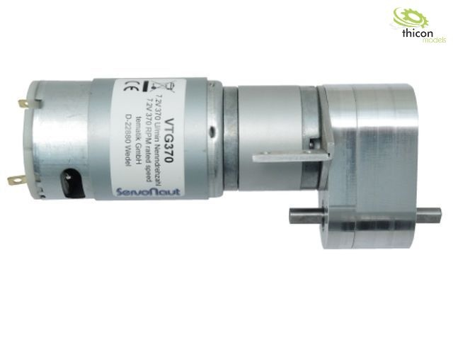 VTG450 Planetengetriebemotor mitVerteilergetriebe 12 V 450 U