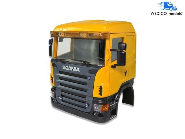 SCANIA cab CR 19, yellow RAL1007
