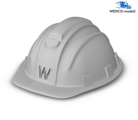 Safety helmet for Wedico models truck driver
