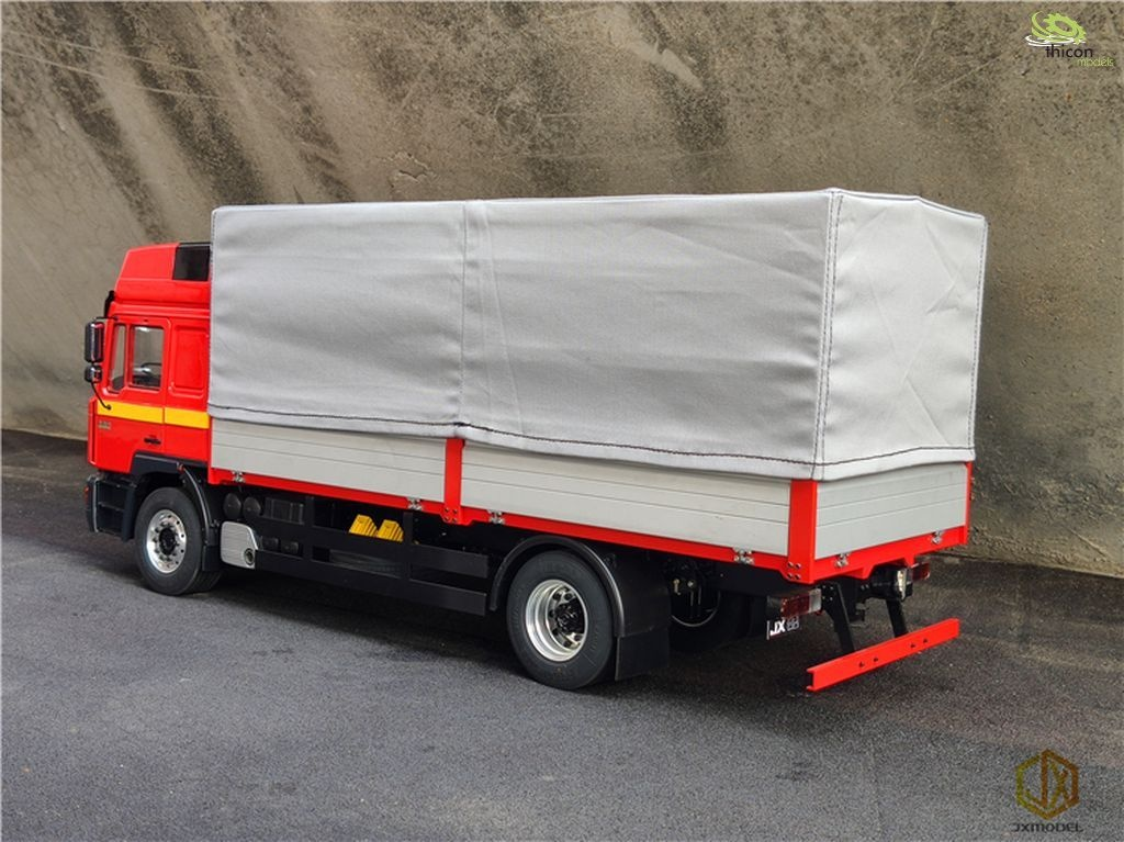 Tarpaulin gray fabric with aluminum frame for flatbed