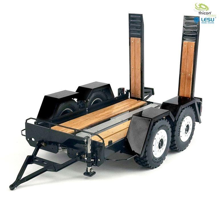 1:14 trailer for trucks for skid steer loader transport