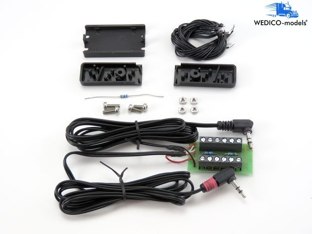 Elektr. Anlage Typ LC-A für Auflieger + Anhänger