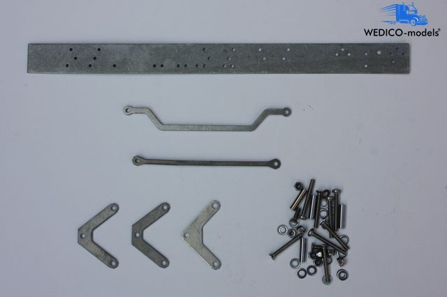 installation kit for double front axle