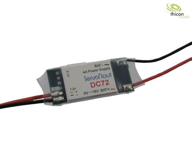 DC72 Stromversorgung auf 7,2V 4A