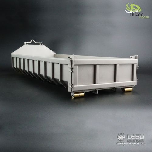 1:14 Roll-off tipper flat made of V2A
